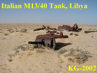 There are no known german armoured relics still in the western desert